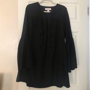 Rachel Zoe Black Belle Sleeve Dress